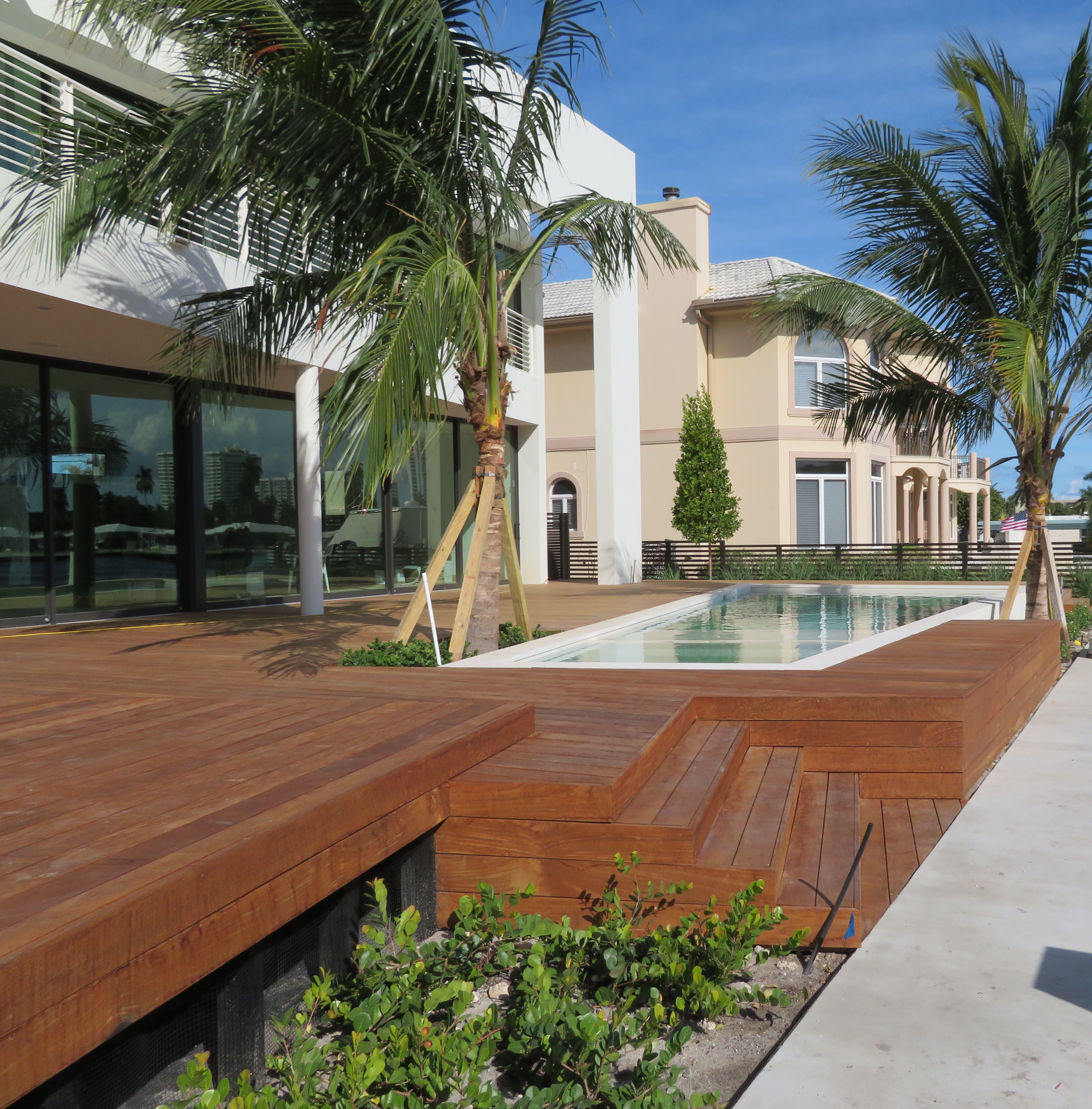 How Do I Refinish A Wood Deck Ipe Decking Installation Miami